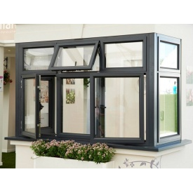 Виготовлення алюмінієвого вікна з теплим профілем