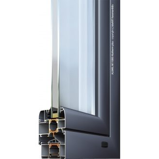 Віконно-дверна система Alumil M11000 Alutherm Plus тепла 62,5 мм