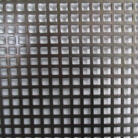 Лист перфорований 0,8 мм 5х5 мм 2х1 м