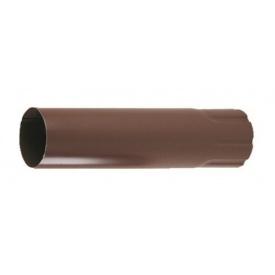 З'єднувач труб Прушиньскі Niagara 90х500 мм коричневий
