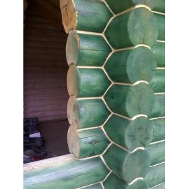 Утеплення дерев'яного будинку технологією Теплий шов
