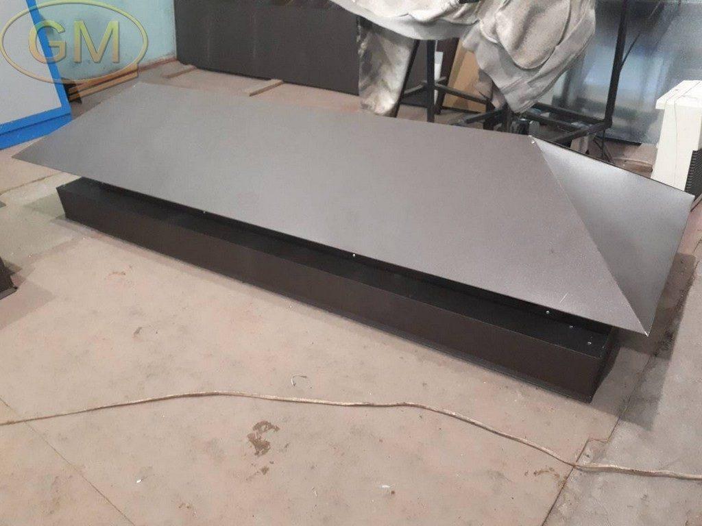 Виготовлення виробів з оцинкованої сталі з полімерним покриттям