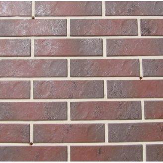 Фасадная плитка клинкер Paradyz SEMIR ROSA 24,5x6,6 см
