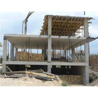 Будівництво будівлі монолітно-каркасною технологією