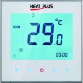 Терморегулятор Heat Plus iTeo4 программируемый сенсорный 220 В белый