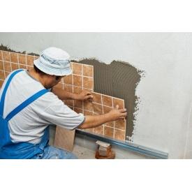 Укладка плитки для стен
