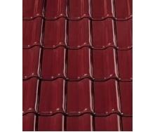 Керамическая черепица CREATON Futura 300х482 мм (burgundy glazed)