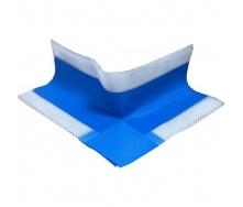 Гидроизоляционный уголок наружный Полипласт 60х105 мм