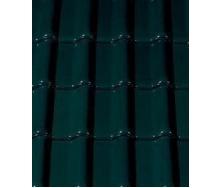 Керамическая черепица CREATON Futura 300х482 мм (dark green glazed)