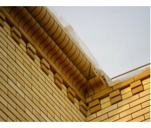 Облицовочный кирпич Литос Гладкий пустотелый полированный 250x120x65 мм желтый