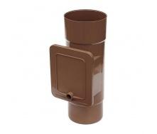Люк для чистки Bryza 125 110,4х104,5 мм коричневый