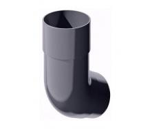 Колено трубы ТехноНИКОЛЬ 135 градусов 82 мм серый