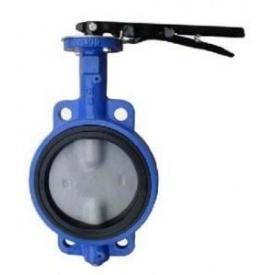 Засувка поворотна Сантекс К Батерфляй чавунна 1,6 МПа 200 мм