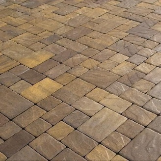 Тротуарная плитка Золотой Мандарин Венеция 60 мм генуя