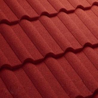Композитная черепица Gerard Milano 1215x369 мм spanish red
