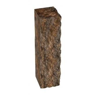 Столбик декоративный Золотой Мандарин 500х175х150 мм персиково-коричневый микс