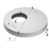 Крышка для колодца 2ПП 20-2-1 бетон В15 2250х160 мм с отверстием 700 мм