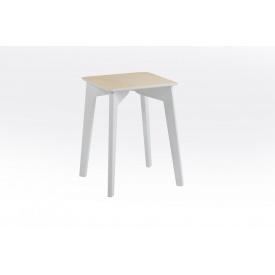Табурет Сингл Микс-мебель 450 мм белые ножки