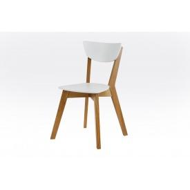 Деревянный стул Рондо Лофт 500х440х790 мм дуб-белый