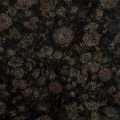 Гранитная плита BALTIC BROWN полировка 2х80х240 см черно-коричневый