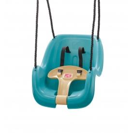 Подвесная качеля для малышей 27x61x41 см бирюзовая