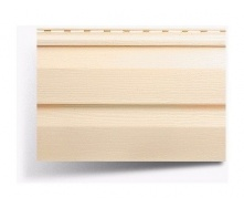 Сайдинг виниловый Альта-Профиль Alta-Siding двухпереломный 3660х230х11 мм песочный