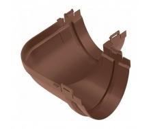 Угол желоба Альта-Профиль Стандарт 90 градусов 115 мм коричневый