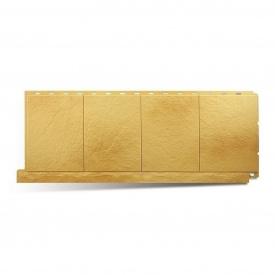Фасадна панель Альта-Профіль Фасадна плитка 1130х450х20 мм Златолит