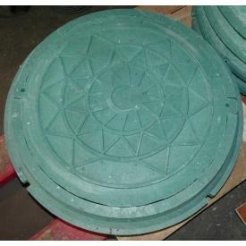 Люк полімерний А15 зелений