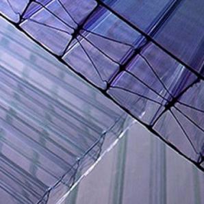Стільниковий полікарбонат Plazit Polygal Titan 20 мм 2,1х12 м