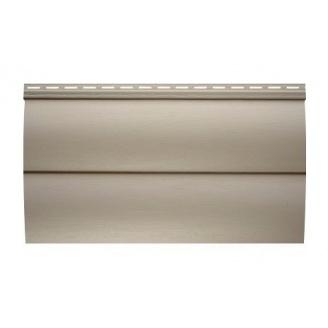 Сайдинг виниловый Альта-Профиль BlockHouse двухпереломный 3100х320 мм бежевый