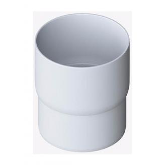 Муфта трубы Альта-Профиль Элит 95 мм белый
