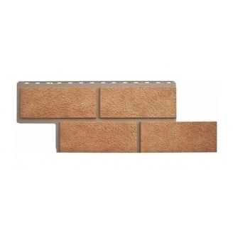 Фасадная панель Альта-Профиль Камень Неаполитанский 1250х450х26 мм бежевый
