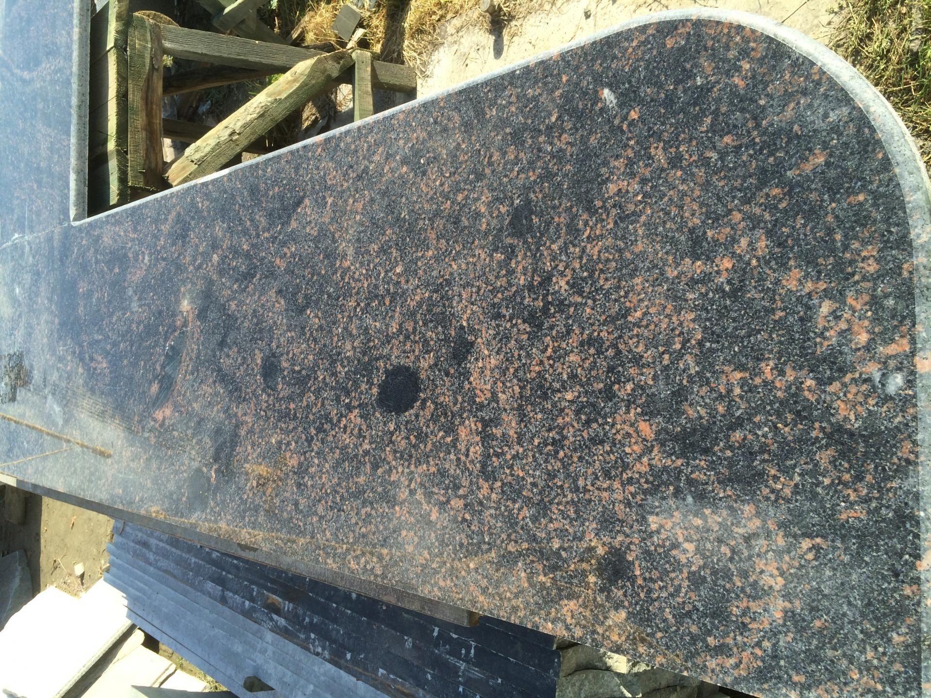 Г-подібна стільниця для кухні з Жаданского природного каменю