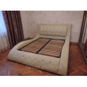 Кожаная кровать с подъемным механизмом IRENA