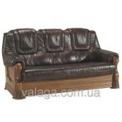 """Шкіряний диван Голландія """"ANETA II"""",шкіряний диван на дереві"""