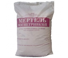 Мертель шамотный МШ-28 25 кг