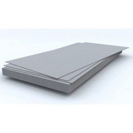 Шифер плоский 1750х1250х8 мм серый
