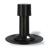 Вентиляционный выход Wirplast К41 110 мм черный RAL 9005