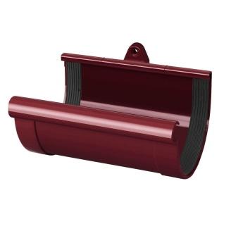 Муфта желоба Rainway 130 мм красная