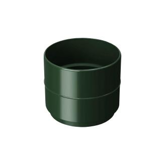 Муфта водосточной трубы Rainway 75 мм зеленая