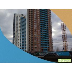 Фіброцементний вентильований фасад Cedar 1220х3050 мм блакитний