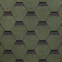Гнучка черепиця ТехноНІКОЛЬ Оптима зелений