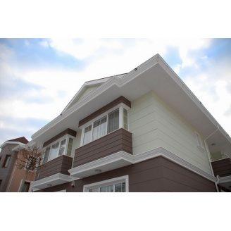 Облицовка фасада фиброцементными панелями Cedar 1220х3050 мм