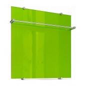 Рушникосушка Теплолюкс Flora скляна електрична 60х60 см зелений