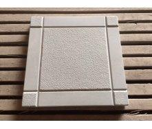 Тротуарная плитка шагрень  295x295x25 мм серый