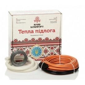 Нагревательный кабель Наш комфорт БНК-540 двухжильный 31 м