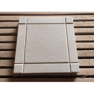 Тротуарна плитка шагрень 295x295x25 мм сірий