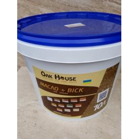 Масло віск універсальний для покриття дерев'яної вагонки всередині і зовні приміщень 10 л палісандр