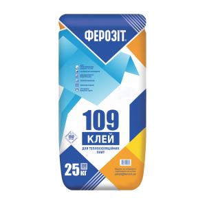 Клеевая смесь Ферозит 109 для теплоизоляционных плит 25 кг